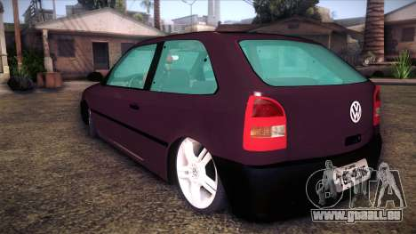 Volkswagen Gol GTI pour GTA San Andreas laissé vue