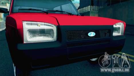VAZ M pour GTA San Andreas vue de droite