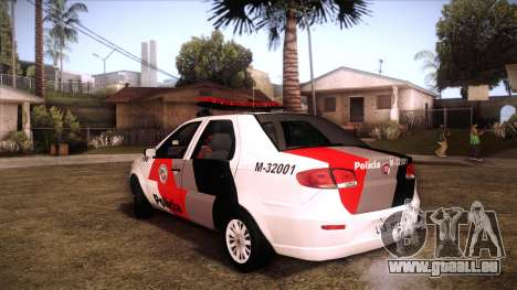 Fiat Siena 2011 pour GTA San Andreas laissé vue