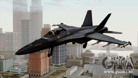 FA-18 HARV für GTA San Andreas