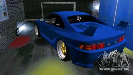 Toyota MR2 pour GTA San Andreas vue intérieure