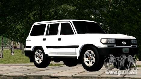 Toyota Land Cruiser 80 pour GTA San Andreas