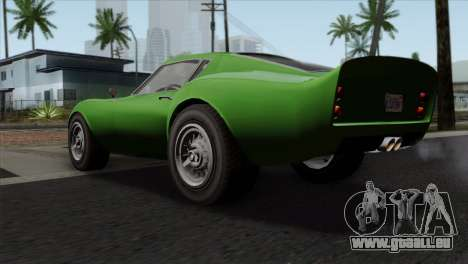 GTA 5 Grotti Stinger GT v2 SA Mobile pour GTA San Andreas laissé vue