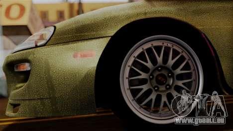 Toyota Supra Turbo (JZA80) 1998 FF7 Edition pour GTA San Andreas sur la vue arrière gauche