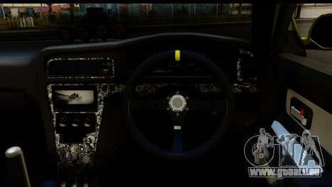Toyota Chaser Tourer V Fail Crew pour GTA San Andreas vue arrière