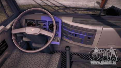 Tatra Katasi pour GTA San Andreas sur la vue arrière gauche