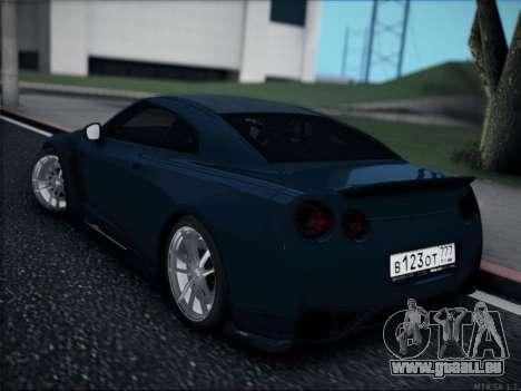 Nissan GT-R für GTA San Andreas linke Ansicht