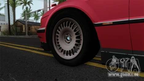 BMW 750iL E38 für GTA San Andreas zurück linke Ansicht