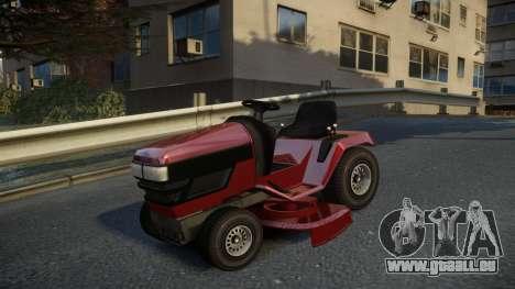 GTA V Lawn Mower für GTA 4