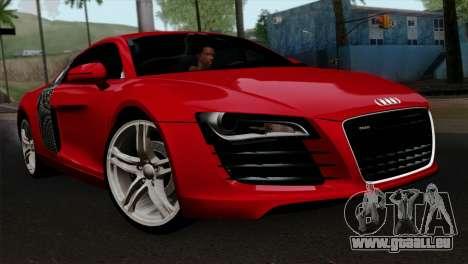 Audi R8 v2 für GTA San Andreas