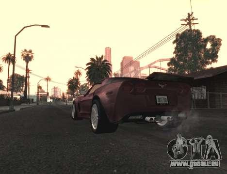 Belle Finale ColorMod pour GTA San Andreas deuxième écran