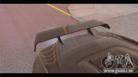 GTA 5 Pegassi Zentorno Spider für GTA San Andreas rechten Ansicht