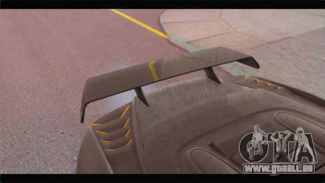 GTA 5 Pegassi Zentorno Spider pour GTA San Andreas vue de droite