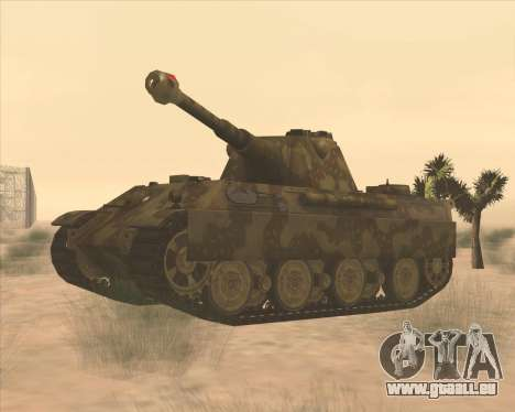 Pz.Kpfw. V Panther II Desert Camo pour GTA San Andreas
