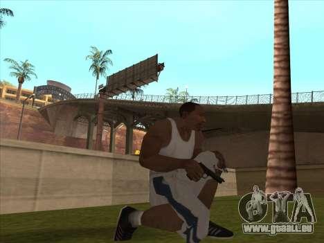 Große russische Waffen für GTA San Andreas sechsten Screenshot