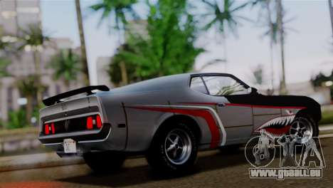 Ford Mustang Mach 1 429 Cobra Jet 1971 IVF АПП für GTA San Andreas obere Ansicht