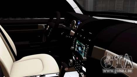 Lexus LX570 2011 pour GTA San Andreas vue de droite