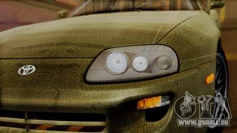 Toyota Supra Turbo (JZA80) 1998 FF7 Edition für GTA San Andreas rechten Ansicht