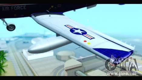 Beechcraft T-6 Texan II US Air Force 2 pour GTA San Andreas vue de droite