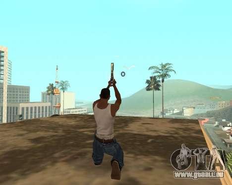 Green Pack Asiimov CS:GO pour GTA San Andreas neuvième écran