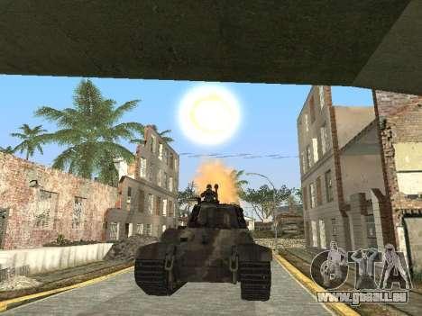 Panzerkampfwagen Tiger II für GTA San Andreas Motor
