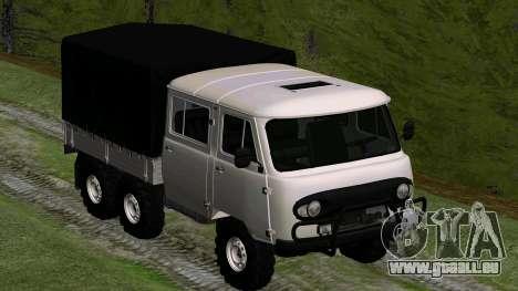 UAZ 39094 6X6 Dream hunter für GTA San Andreas