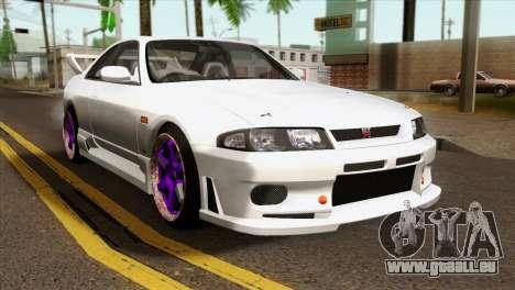 Nissan Skyline R33 Drift JDM für GTA San Andreas
