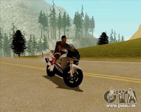 NRG-500 Winged Edition V.2 für GTA San Andreas linke Ansicht