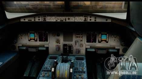Airbus A320-200 OLT Express pour GTA San Andreas vue de droite