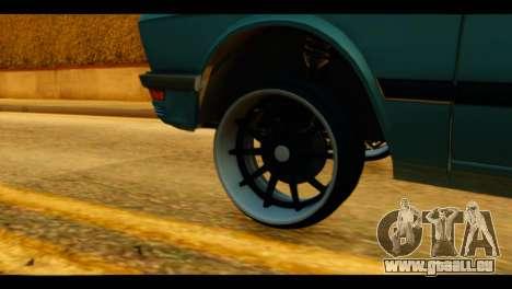 BMW 535is pour GTA San Andreas sur la vue arrière gauche