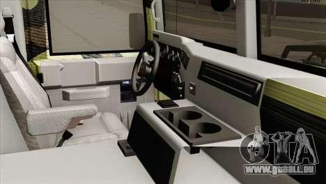 HMMWV M997 Ambulance pour GTA San Andreas vue de droite