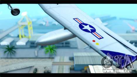 Beechcraft T-6 Texan II  United States Navy pour GTA San Andreas vue de droite