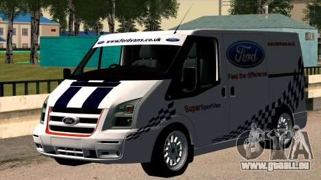 Ford Transit für GTA San Andreas rechten Ansicht