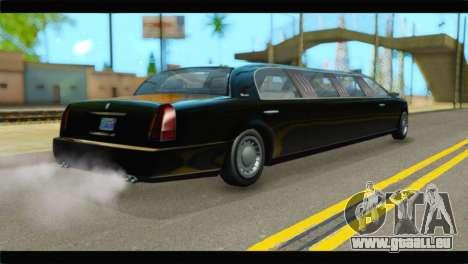 GTA 5 Dundreary Stretch IVF pour GTA San Andreas laissé vue