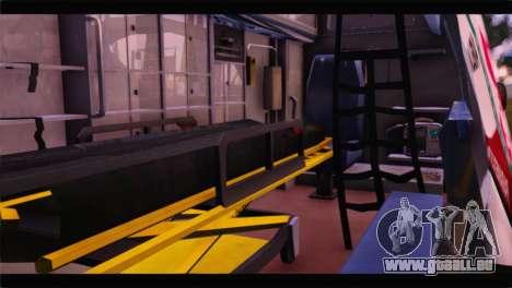 Ford E-350 Ambulance New Brunswick für GTA San Andreas Rückansicht