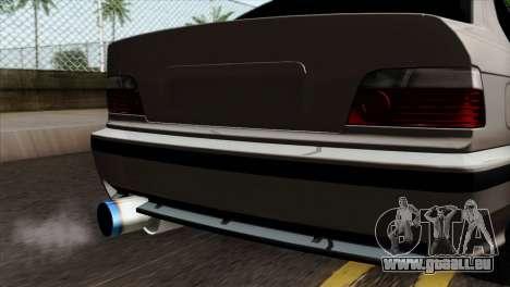 BMW M3 E36 pour GTA San Andreas vue arrière