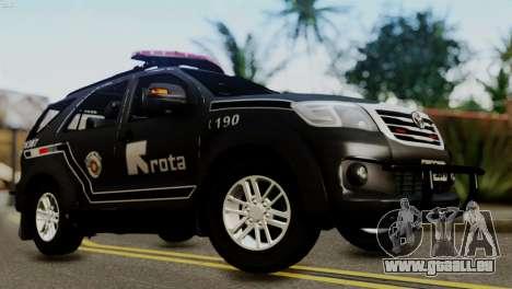 Toyota Hilux SW4 2014 ROTA für GTA San Andreas
