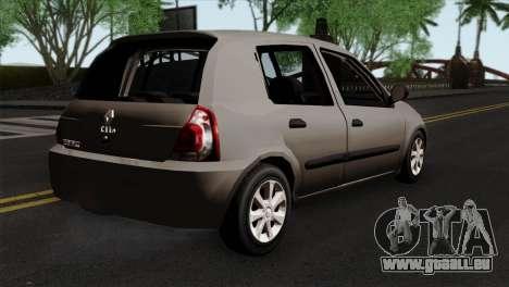 Renault Clio Mio 5P für GTA San Andreas linke Ansicht