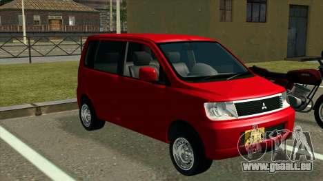 Mitsubishi eK Wagon pour GTA San Andreas vue de droite