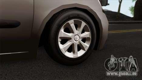 Renault Clio Mio 5P für GTA San Andreas zurück linke Ansicht