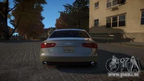 Audi A6 2012 v1.0 pour GTA 4 est un droit