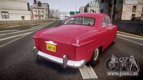 Ford Business 1949 v2.2 pour GTA 4 Vue arrière de la gauche