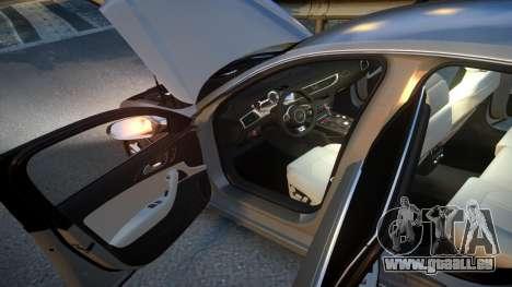 Audi S6 v1.0 2013 für GTA 4 obere Ansicht
