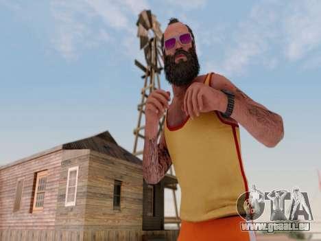ENB pour les moyennes PC par WD pour GTA San Andreas troisième écran