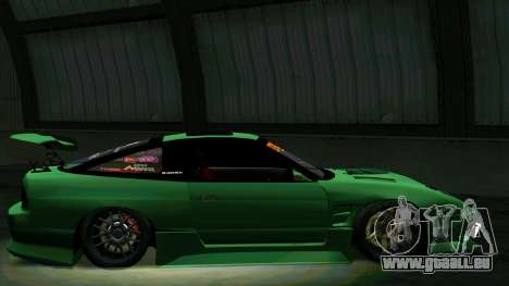 Nissan 180SX für GTA San Andreas obere Ansicht