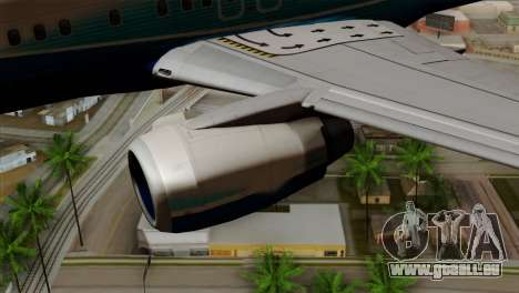Boeing B737-800 Pilot Life Boeing Merge pour GTA San Andreas vue de droite