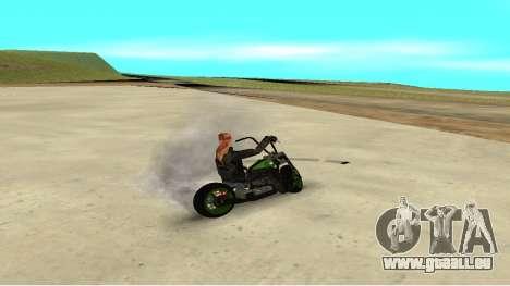 Zombie pour GTA San Andreas laissé vue