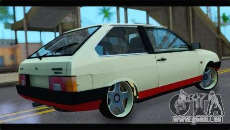 VAZ 21083 pour GTA San Andreas sur la vue arrière gauche