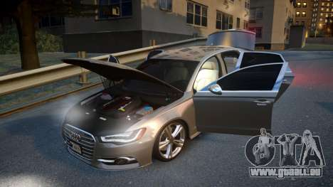 Audi S6 v1.0 2013 für GTA 4 Seitenansicht