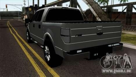 Ford F-150 4X4 Off Road für GTA San Andreas linke Ansicht